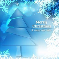 Blue Christmas Background with Tree and Snowflakes Free Christmas Backgrounds, Free Vector Backgrounds, Free Vector Art, Blue Background Wallpapers, Blue Backgrounds, Winter Backgrounds, Blue Christmas Background, Light Blue Background, Merry Christmas And Happy New Year