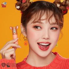 ETUDE HOUSE has released a huge makeup collection called 'Lucky Together' in cooperation with Warner Brothers' Tom and Jerry. Blushes, Etude House, Cute Girl Poses, Cute Girls, Park Hye Min, Pony Makeup, Eye Makeup, Tom E Jerry, Asian Make Up