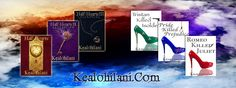 The Half-Hearts Trilogy and the Romeo Killed Juliet Trilogy, written by authoress, Kealohilani