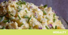 Vajíčková pomazánka s cibulí Meat Recipes, Gourmet Recipes, Appetizer Recipes, Real Food Recipes, Cooking Recipes, Yummy Food, Healthy Recipes, Czech Recipes, Hungarian Recipes
