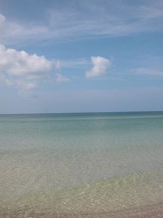 The Gulf of Mexico. You can't beat crystal water. That's why we love living here....