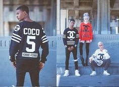 Coco: Print Homme Hockey Sweater - Black