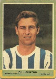 Ian Hamilton of Bristol Rovers in Bristol Rovers Fc, Football Cards, Baseball Cards, Hamilton, How To Memorize Things, 1960s, Memories, Chewing Gum, Fan