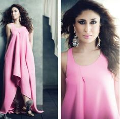 Kareena Kapoor Khan in Dior gown, Fendi shoes and Outhouse earrings for Filmfare November 2014