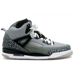 44f5084ce0b Air Jordan Spizike Cool Grey Stealth Black Light Graphite White 315371-091  Jordans Girls