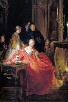"""After the Ball"" by Jean-Francois de Troy, 1735"