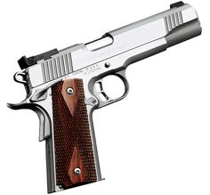 Kimber 1911 Stainless Gold Match II - Full-size and heavily featured, plus additional resistance to the elements.