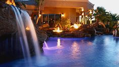 You need to be a personal friend of the owners to visit this private pool built by Red Rock Contractors in Gilbert, AZ.