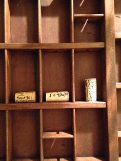Shadow box corks