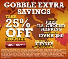 MLB Shop Thanksgiving Savings