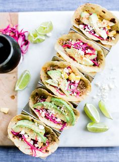 These pulled pork tacos make our taco holder look fabulous! Thank you, @SarahHubbell!