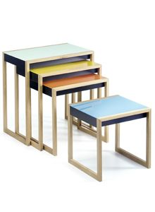 Nesting Tables by Josef Albers, I have and are fantastic...:)