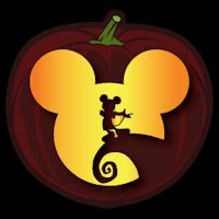 Mickey Skellington CO - Stoneykins Pumpkin Carving Patterns and Stencils