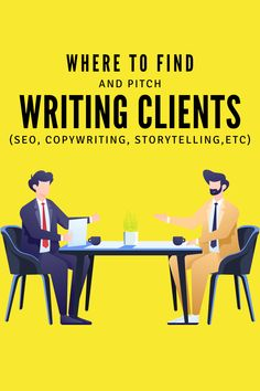 Learn where to find and pitch writing clients as a freelancer. While it's mostly aimed for SEO writing, everything can be implemented for other forms of writing. Seo Guide, Seo Tips, Wordpress Guide, Seo Optimization, Blog Writing, Writing Services, Copywriting, Blogging For Beginners, Make Money Blogging