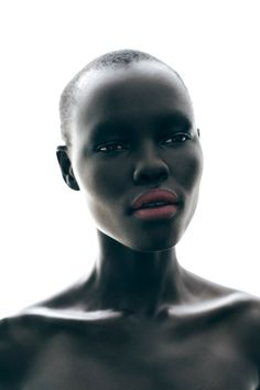 :: PHOTOGRAPHY :: Beautiful Portrait | Grace Bol by Toto Cullen. Styled by Andrea Perini, the designs of Karl Lagerfeld, Versace and Charles Anastase stand out with her elegant poses. / Makeup by Kristen Arnett.  #photography