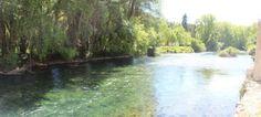 La sorgue Fontaine de Vaucluse