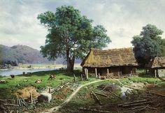 800px-Mikhail_Clodt_Riverside_Farmstead.jpeg (800×550)