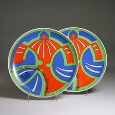 Emilio Pucci  Pair of Plates