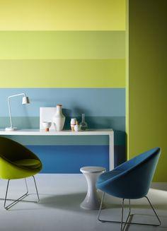 Idea - to find a color set for kitchens Crown Paints Defined Colour Flow Effect Colour Schemes, Color Trends, Colour Architecture, Interior And Exterior, Interior Design, Soft Seating, Wall Colors, Paint Colours, Decoration