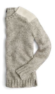 JCREW - Holidays, I heart sweaters, it's what makes winter ok.  :)