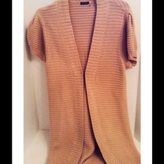 Worth Chocolate Brown Open Cardigan Sweater Jacket | Open cardigan ...