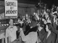 Before 1920, 50% of Americans lived under Prohibition laws passed by various states; now everybody did, as the 18th Amendment went into effect the year before. Description from dansvilleareahistoricalsociety.wordpress.com. I searched for this on bing.com/images