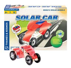 Build 5 solar powered models using an innovative motor module that can be powered by a solar cell or batteries. Suitable for ages 8+