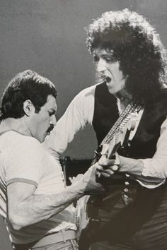 Queen ~ Freddie Mercury and Brian May