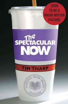 The Spectacular Now, by Tim Tharp.  Shailene Woodley is also starring in the movie adaptation of this teen novel.