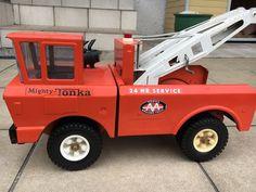 Mighty Tonka AA Tow truck