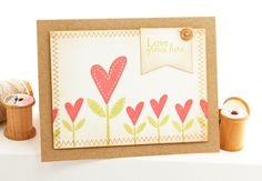 Love grows card by Lisa Lisa - Cards and Paper Crafts at Splitcoaststampers