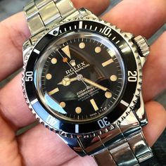 Rolex Facts, History, and Company Info by Bob's Watches Rolex 116234, Rolex 5513, Rolex Submariner 5513, Vintage Rolex, Vintage Watches, Breitling, Cool Watches, Watches For Men, Timex Watches
