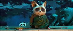 Kung Fu Panda 3 Official Trailer, When Po's long-lost panda father suddenly reappears, the reunited duo travels to a secret panda paradise Kung Fu Panda 3, Dreamworks Animation, 3d Animation, Animation Studios, Animation Series, Panda Movies, Master Shifu, Film D, Movie Wallpapers