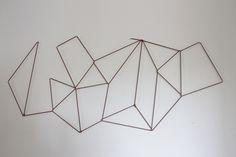 DIY Geometric Photo Display | The Caldwell Project
