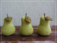 Kouzlo mého domova: Háčkované hruštičky Sugar Bowl, Bowl Set, Fruit, Crochet, Ganchillo, Crocheting, Knits, Chrochet, Quilts