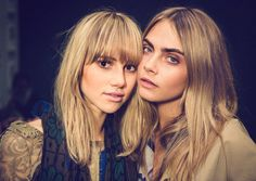 cara delevingne, suki waterhouse, and model image