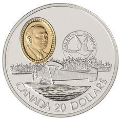 $20 1993 Silver Coin - Fairchild 71c