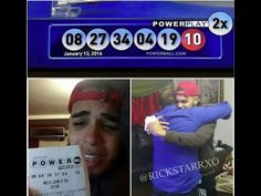 First Powerball Jackpot Winning Ticket on Facebook 1 13 1216First Powerball Jackpot Winning Ticket on Facebook 1-13-1216 Winning Tickets in $1.6B Powerball Jackpot Sold in 3 States. This is what he has on his Facebook post I WASNT GOING TO PUT THIS ON FB BUT I COULDNT HOLD IT AND I STILL CANT BELIEVE THIS!!! I WON $1.5 BILLION. MY FAMILY HAS BEEN CRYING FOR HOURS.  I am picking 10 random people who share this photo and giving them $10,000 each. CALL ME CRAZY BUT GOD is GOOD…