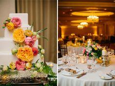 Ritz Carlton Laguna Niguel Wedding | Peach and Pink | Sugar Branch Events | Cami Jane Photography