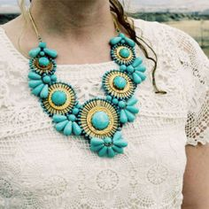 WoW!! Now THIS is a statement necklace!!   Bohemian Romance Necklace