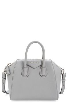 Givenchy Antigona Mini in Grey! The perfect size!!!! A must for easy travel and on-the-go