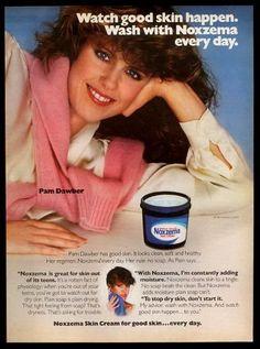 Pam Dauber for Noxema 1982