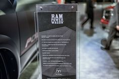 2013 Ram 2500 Power Wagon specs and sign by AntonStetner, via Flickr  #detroitautoshow #naias