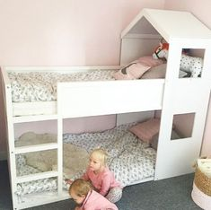 51 Cool Ikea Kura Beds Ideas For Your Kids Rooms. The Ikea beds are elegant furniture among the many product lines found at the Ikea stores in different countries. Kura Bed Hack, Ikea Bunk Bed, Ikea Kura Hack, Room Deco, Shared Bedrooms, Kids Room Design, Kid Beds, Girls Bedroom, Kids Rooms