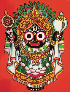 Jagannath Images are very popluar item among the Jagannath Believer. Here we put in 51 best Images of Lord Jagannath from all over the internet. Madhubani Art, Madhubani Painting, Traditional Paintings, Traditional Art, Phad Painting, Lord Jagannath, Rajasthani Art, Ganesha Painting, Ganesha Art
