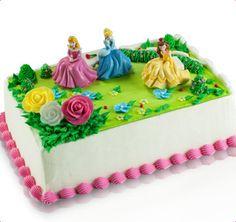 Baskin-Robbins Disney Princess Garden Royalty Cake...last childhood birthday. Disney was half of my childhood. :)