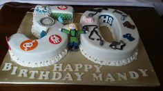 50th  sky diving midwife cake