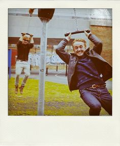 Tom and Rupert - the goofs! :)