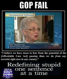 Yet another GOP FAIL .... Idiots!