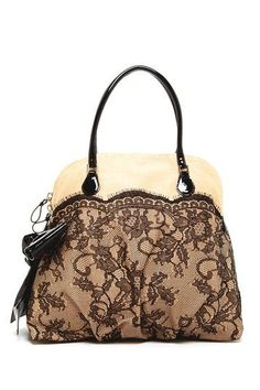 Womens Purses  : Valentino Raffia Lace Handbag on HauteLook